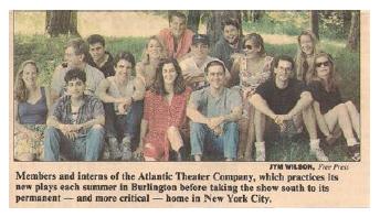 Atlantic Theatre Company Company Members & Apprentices
