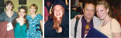 Katy, Me, Ma / Graduation / Dad & Me